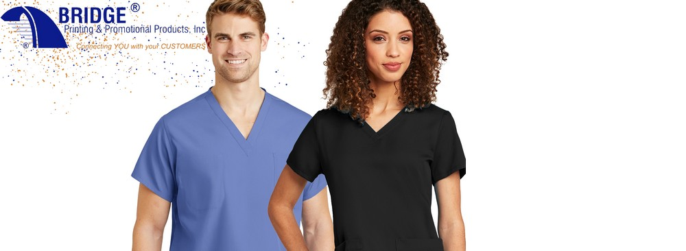 3 Things to Look for in Comfortable Professional Scrubs - (Custom Printed WonderWink & Zoe + Chloe Scrubs)