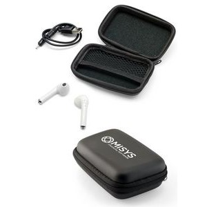 Sound Pods Wireless Bluetooth 4.2 Stereo Headset in Zip Case