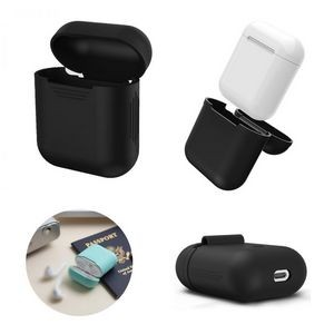 Silicone Airpods Wireless Earphones Charging Case Cover