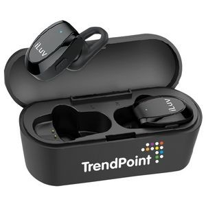 iLuv® Bluetooth® Earbuds with Charger Case